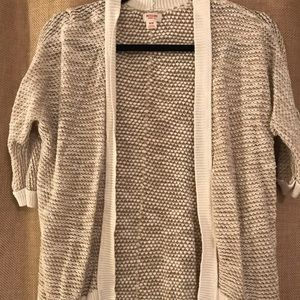 Mossimo supply co knitted cardigan